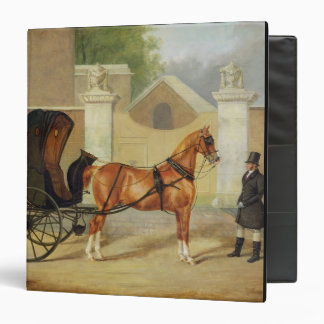 Gentlemen's Carriages: A Cabriolet, c.1820-30 (oil 3 Ring Binder