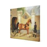 Gentlemen's Carriages: A Cabriolet, c.1820-30 (oil Canvas Print