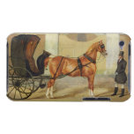 Gentlemen's Carriages: A Cabriolet, c.1820-30 (oil iPod Case-Mate Case