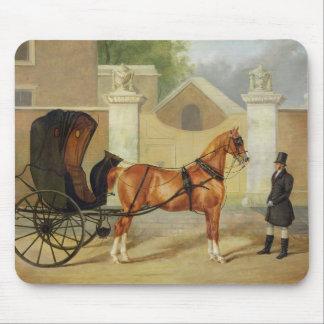 Gentlemen's Carriages: A Cabriolet, c.1820-30 (oil Mouse Pad