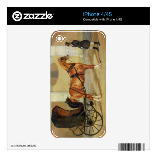 Gentlemen's Carriages: A Cabriolet, c.1820-30 (oil Decals For iPhone 4