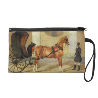 Gentlemen's Carriages: A Cabriolet, c.1820-30 (oil Wristlet