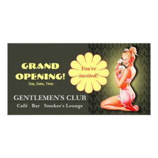 Gentlemen's Club - Card, Photo, Invite