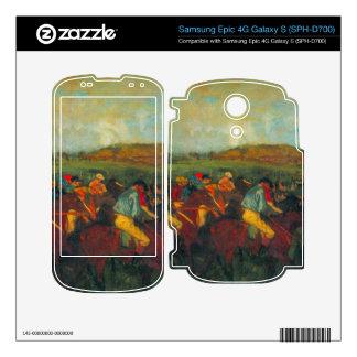 Gentlemen's Race by Edgar Degas Decal For Samsung Epic