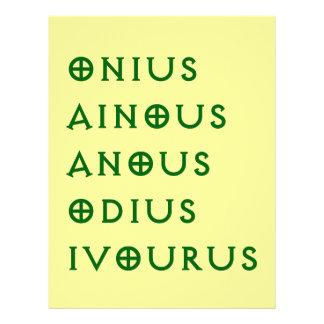 Gentlement Broncos Onius, Ainous, Odius, Ivourus Letterhead