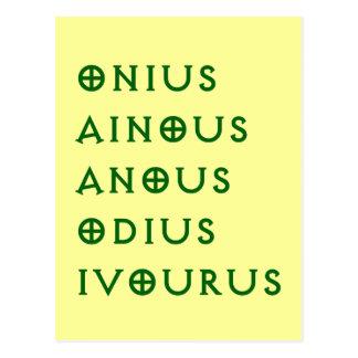 Gentlement Broncos Onius, Ainous, Odius, Ivourus Postcard