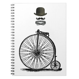 Gentleme's Penny Farthing Notebook