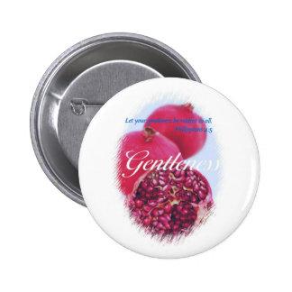 Gentleness 2 Inch Round Button