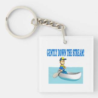 Gently Down The Stream Acrylic Key Chain