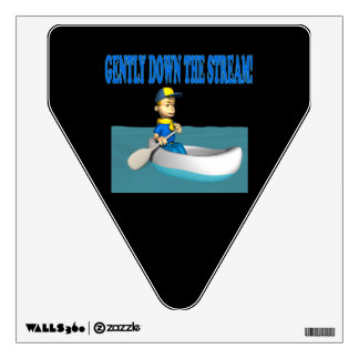 Gently Down The Stream Wall Decal