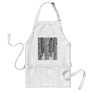 Gently Falling Snow Adult Apron