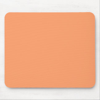 Gently Tranquil Orange Color Mouse Pad