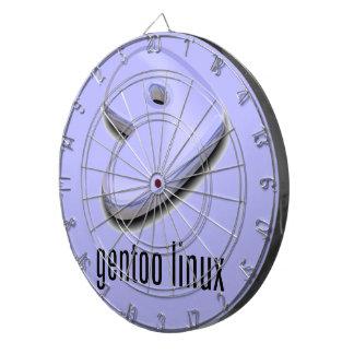 gentoo Linux Logo Dartboard