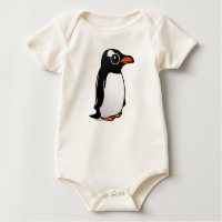 Cute Gentoo Penguin Infant Organic Creeper