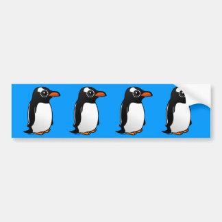 Gentoo Penguin Bumper Sticker