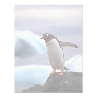 Gentoo Penguin Letterhead