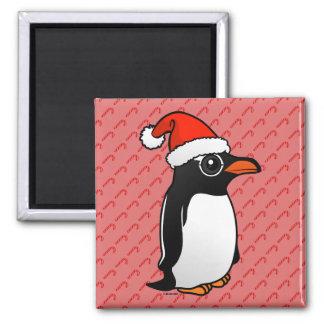 Gentoo Penguin Santa Magnet