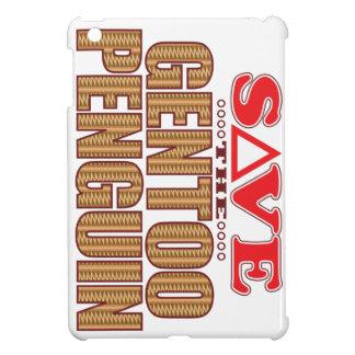 Gentoo Penguin Save iPad Mini Cover