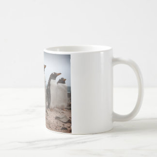 Gentoo penguins coffee mug