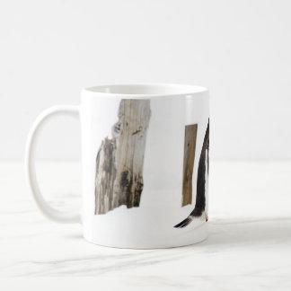 Gentoo Penguins Kissing mug