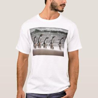 Gentoos on the beach T-Shirt
