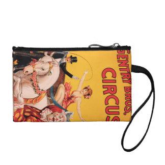 Gentry Bros. Circus Coin Wallet