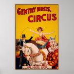 Gentry Bros. Circus Poster