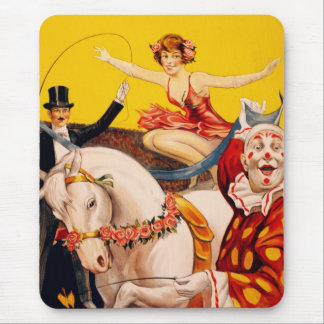 Gentry Bros. Circus Poster ft. Miss Louise Hilton Mouse Pad