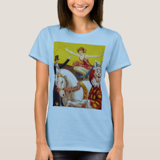 Gentry Bros. Circus Poster ft. Miss Louise Hilton T-Shirt