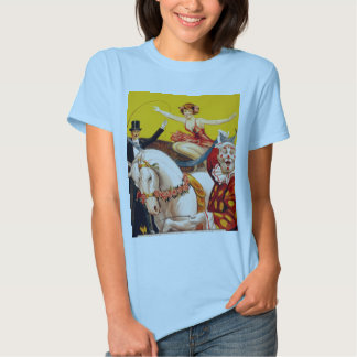 Gentry Bros. Circus Poster ft. Miss Louise Hilton Tee Shirt