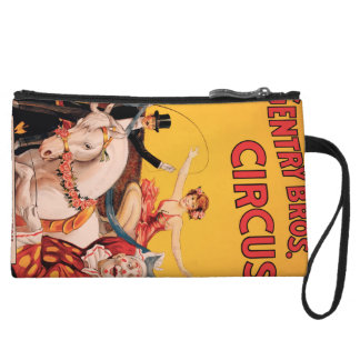 Gentry Bros. Circus Wristlet Wallet