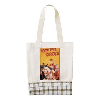 Gentry Bros. Circus Zazzle HEART Tote Bag