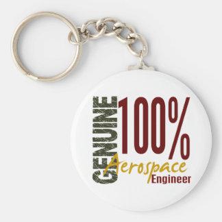 Genuine Aerospace Engineer Basic Round Button Keychain
