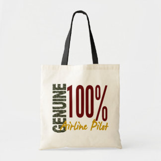 Genuine Airline Pilot Tote Bags