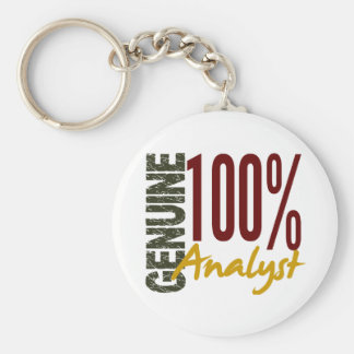 Genuine Analyst Keychain