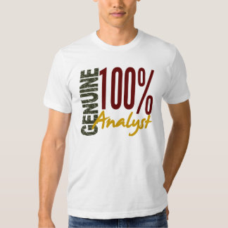 Genuine Analyst T-Shirt