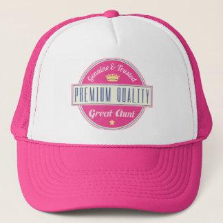 Genuine and Trusted Premium Great Aunt Trucker Hat