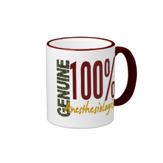 Genuine Anesthesiologist Ringer Mug
