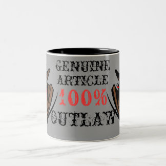 Genuine Article 100% Outlaw Mug
