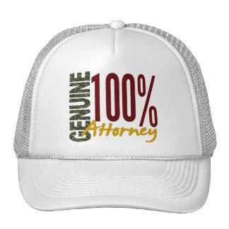 Genuine Attorney Hats