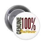 Genuine Auctioneer Button