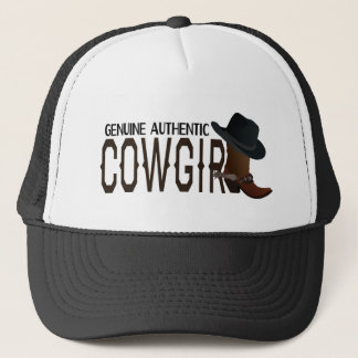 Genuine Authentic COWGIRL Boot & Hat