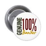 Genuine Banker Button