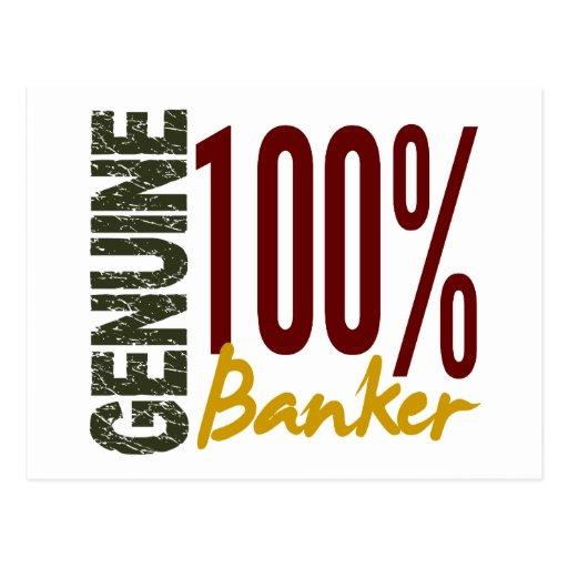 Genuine Banker Post Cards