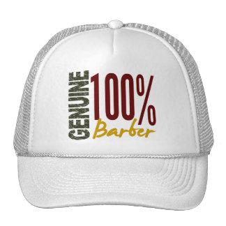 Genuine Barber Mesh Hats