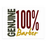 Genuine Barber Post Cards