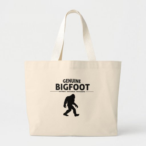Genuine Bigfoot Tote Bag