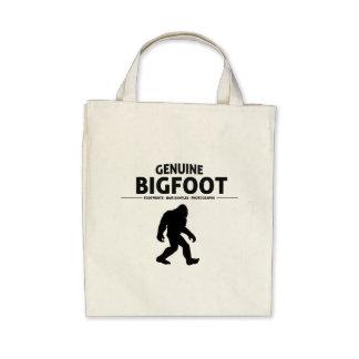 Genuine Bigfoot Tote Bags