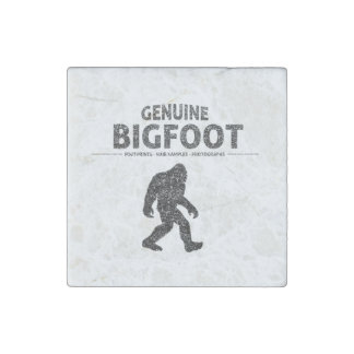 Genuine Bigfoot (Distressed) Stone Magnet
