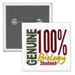 Genuine Biology Student Pin
